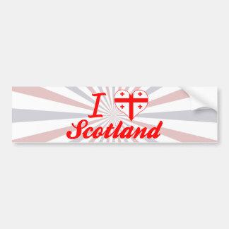 I Love Scotland, Georgia Bumper Stickers