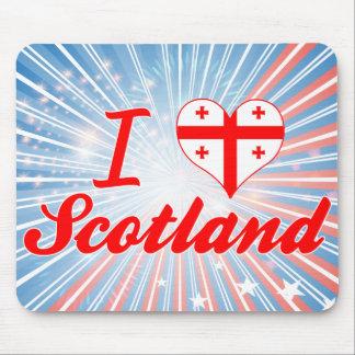 I Love Scotland, Georgia Mouse Pad