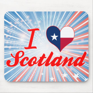 I Love Scotland, Texas Mouse Pad