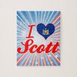I Love Scott, New York Jigsaw Puzzle