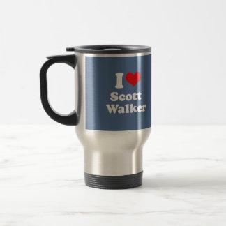 I Love Scott Walker - Election 2016 Coffee Mugs