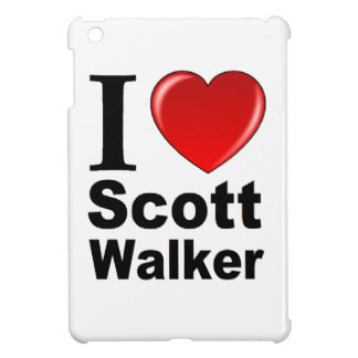 I Love Scott Walker iPad Mini Covers