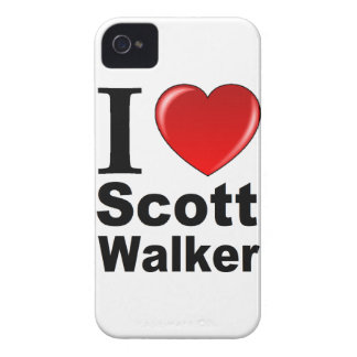 I Love Scott Walker iPhone 4 Case