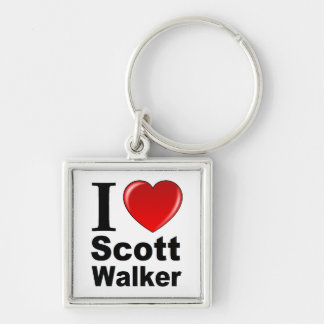 I Love Scott Walker Keychain