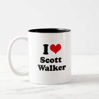 I Love Scott Walker Coffee Mugs