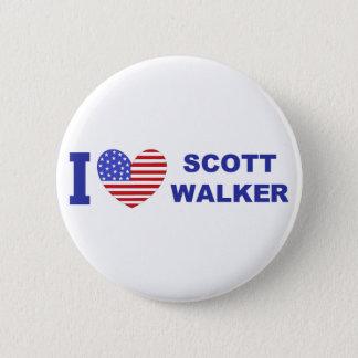 I Love Scott Walker Pinback Button