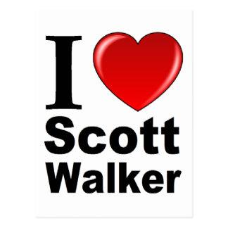 I Love Scott Walker Postcard