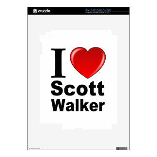 I Love Scott Walker Skin For The iPad 2