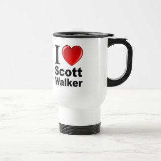 I Love Scott Walker Travel Mug