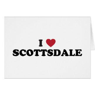 I Love Scottsdale Arizona Card