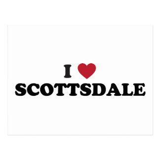 I Love Scottsdale Arizona Postcard