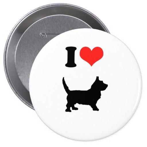 I Love Scottys Pin