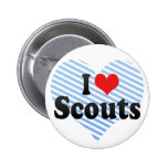 I Love Scouts Pinback Buttons