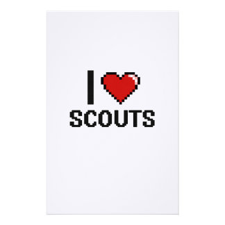 I love Scouts Stationery