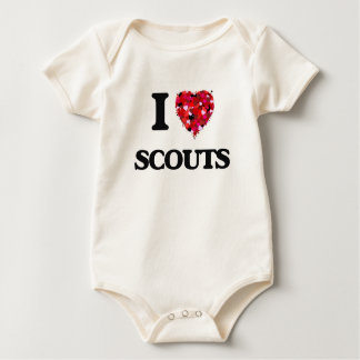 I love Scouts Baby Creeper