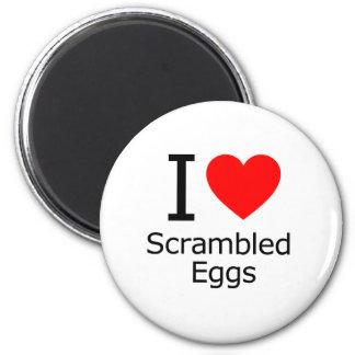 I Love Scrambled Eggs Fridge Magnet