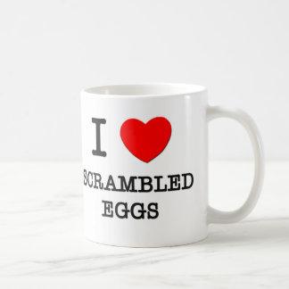 I Love Scrambled Eggs Classic White Coffee Mug
