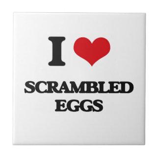 I Love Scrambled Eggs Tiles