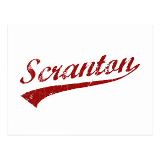 I Love Scranton Pennsylvania Postcard
