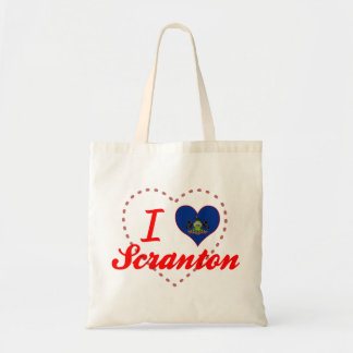 I Love Scranton, Pennsylvania Tote Bag