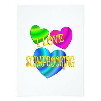 I Love Scrapbooking Card