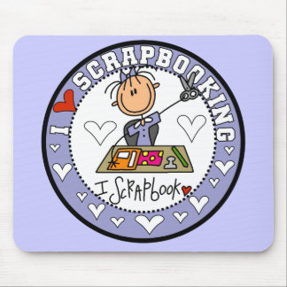 I Love Scrapbooking Mousepad