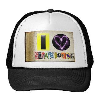 I Love Scrapbooking Trucker Hat