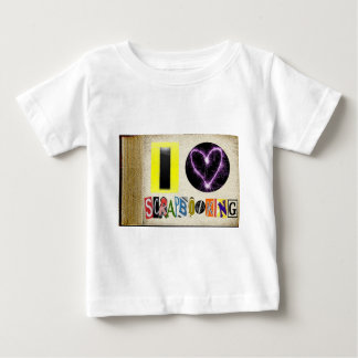 I Love Scrapbooking Tee Shirt