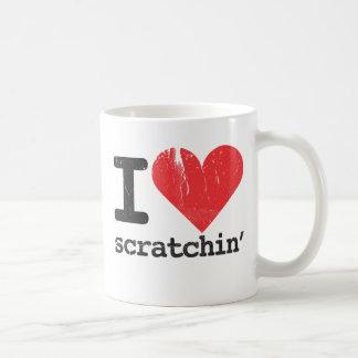 I Love Scratchin' Classic White Mug
