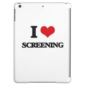 I love Screening iPad Air Case