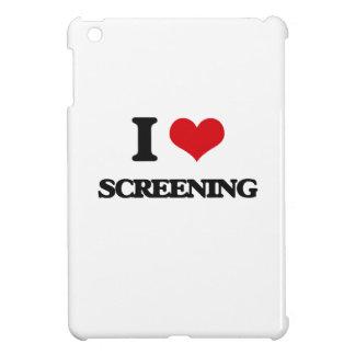 I love Screening iPad Mini Case