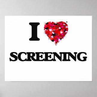 I love Screening Poster