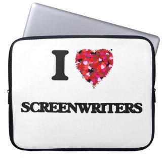 I love Screenwriters Laptop Sleeves