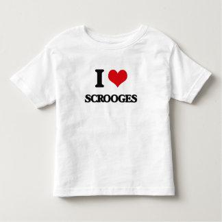 I Love Scrooges T-shirt