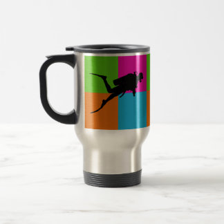 I love scuba diving - homeware travel mug