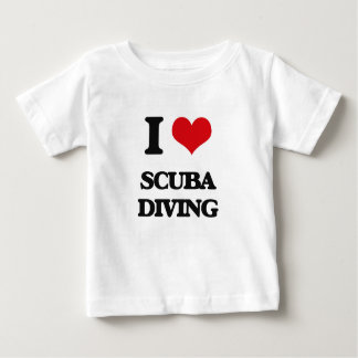 I Love Scuba Diving Infant T-shirt