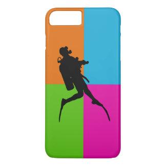 I love-scuba diving - phone case