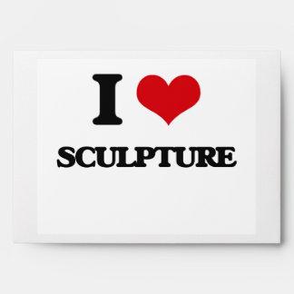 I Love Sculpture Envelope