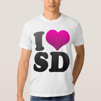 I LOVE SD SHIRT