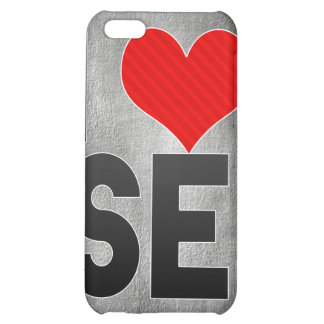 I Love SE Case For iPhone 5C