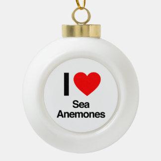 i love sea anemones ornaments