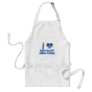 I love Sea Cliff, New York Adult Apron