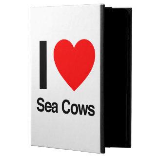 i love sea cows iPad air cases