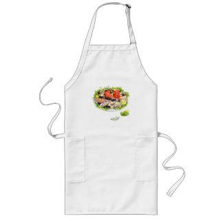 I love sea food long apron
