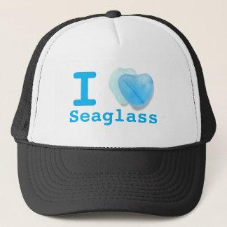 I love Sea Glass Trucker Hat