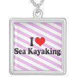 I love Sea Kayaking Necklaces