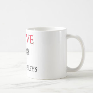 I Love Sea Lampreys Classic White Coffee Mug