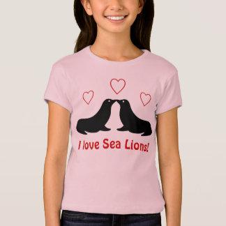 I love Sea Lions - T-shirt