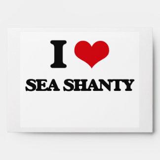 I Love SEA SHANTY Envelope