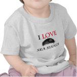 I Love Sea Slugs Tee Shirt